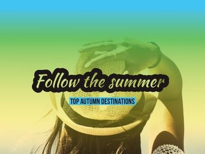 Follow The Summer — Design Template — Social Post