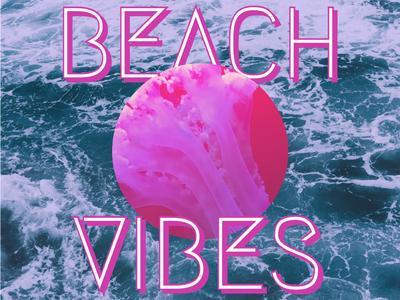 Beach Vibes — Design Template — Social Post