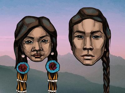 Characters — Native American Kids