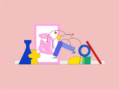 Graphic design illustration dribbble drawing digital illustration digitalart concept art design