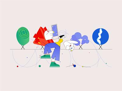 similarity illustration dribbble drawing digital illustration digitalart concept art design