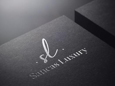 SANCAS LUXURY l Real Estate Logo