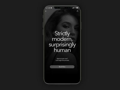 UI app design l Bomane APP
