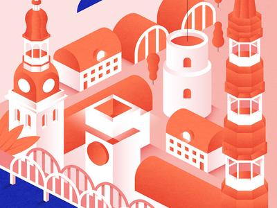 Riga | Latvia. Poster