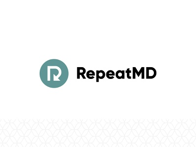RepeatMD Logo photoshop design ux vector ui illustration branding illustrator logo