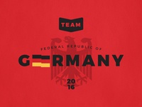 Team Germany Graphic
