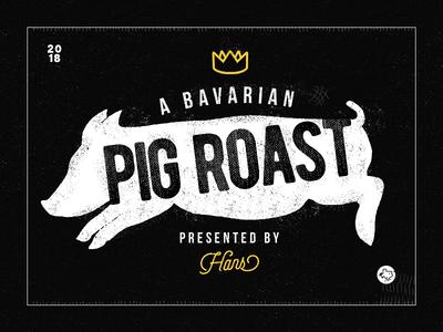 Bavarian Pig Roast texas pig boar crown king texture pig roast