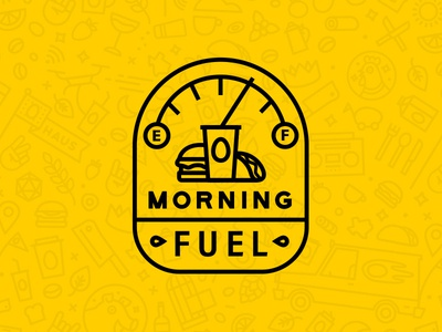 EggHaus Icons - Morning Fuel icon illustration vector icons morning photoshop illustrator typography branding eggs egghaus