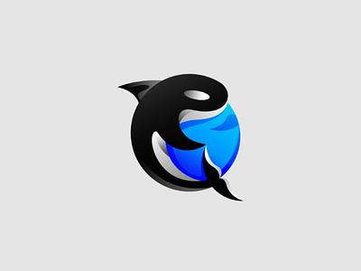 ORCA Logo Design whale logo orca orca design orca logo orca