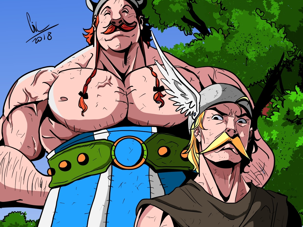 asterix the gaul characters