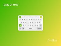 Daily UI #003