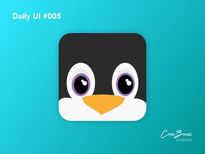 Daily UI #005 penguin app icon daily ui 005 ux design uiux ui design dailyui affinitydesigner