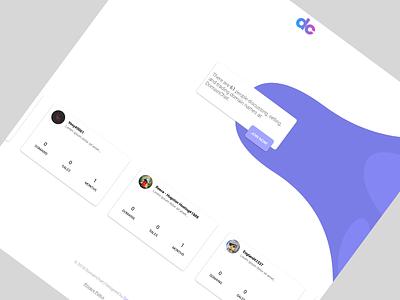 DomainChat Website landing page web development web design ux design uiux ui design