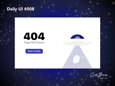 Daily UI #008 undraw space web design affinitydesigner challenge daily ui challange daily ui 008 affinity designer 404 error 404 404 page mockup dailyui ux design ui design uiux