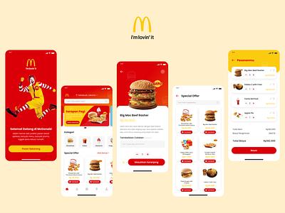 McDonald's App Redesign redesign uiux design copywriting mobile design ui design ui