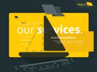 Our Services. Exploring some design ideas.