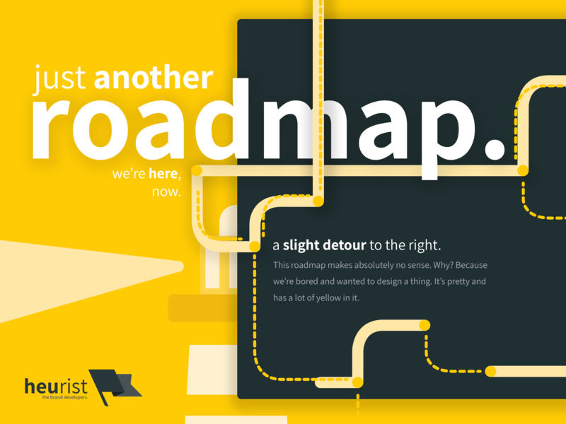 Navigation made complicated... road map ui maps lighthouse illustrator graphics design marketing agency branding agency typography vector flat minimal agency branding illustration heurist - the brand developers heurist
