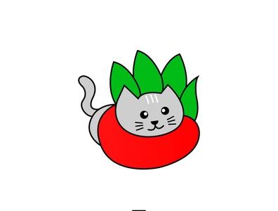Cat Mascot Design mascot logo mascot design pet shop vector branding art logo design illustration