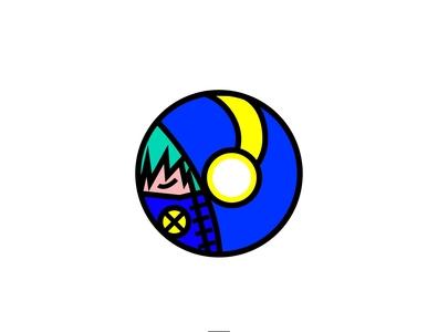 Blue Poison Logo Design music flat illustration branding art logo design illustration