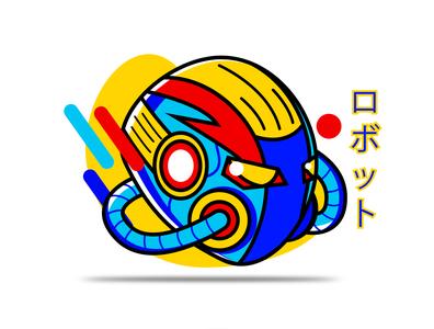 Robotto aliens robotics robot mechanics mecha japanese culture japan japanese art vector branding art design illustration
