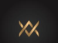 A And V Monogram Logo 02