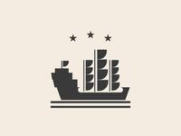 Pirate Ship Logo Design