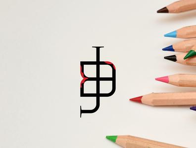 BJ Letter Logo
