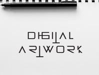 Digital Artwork Logotype