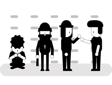 Character Flat Illustration flat illustration vector flat art design illustration