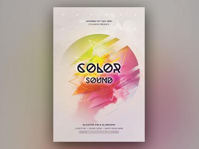 Color Sound Flyer