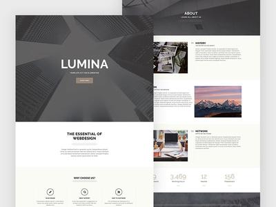 Lumina - Creatives & Business Elementor Template Kit