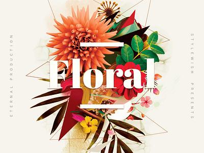 Floral CD Cover Artwork graphicriver cd design cd artwork artwork album cover light creative art graphics music indie flowers flower floral mixtape albumcover photoshop album art cd cover cd