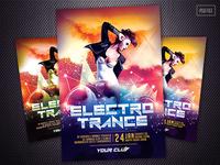 Electro Trance Flyer
