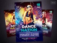 Dance Nation Flyer