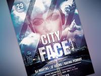 City Face Flyer