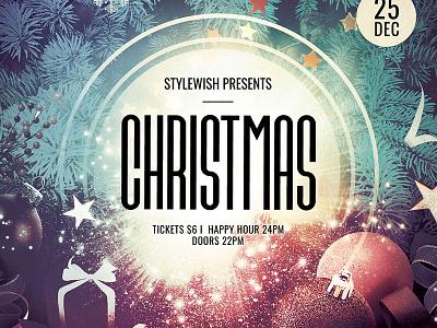 Christmas Flyer christmas invitation luminous xmas flyer xmas card christmas party christmas card xmas christmas graphic design download graphicriver psd template poster flyer