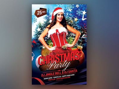 Christmas Party Flyer download graphicriver psd template flyer christmas card event holiday xmas poster xmas party xmas flyer xmas poster christmas flyer christmas