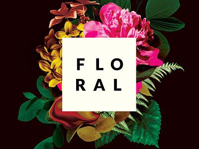 Floral Flyer florals retro vintage alternative botanicals botanical floral design flowers floral photoshop graphic design download graphicriver psd template poster flyer