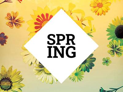 Spring Flyer spring party spring flyer summer natural nature floral design floral flowershop flowers design photoshop graphic design download graphicriver psd template poster flyer