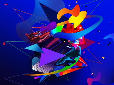 Future Shapes unique crypto artist abstract creative future futuristic graphicdesign nft collector nft artist nft artwork nftart nft