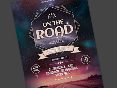 On The Road Flyer