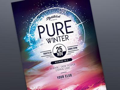 Pure Winter Flyer