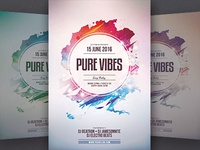 Pure Vibes Flyer