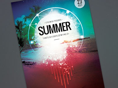 Summer Flyer By Stylewish Dribbble