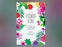 Flower Vibe Flyer