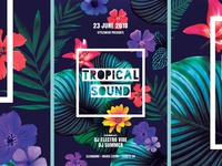 Tropical Sound Flyerl