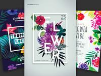 Floral Flyer Bundle