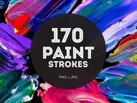 170 Creative Paint Strokes