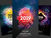 New Year Flyer Bundle Vol.13