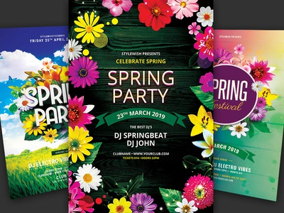 Spring Flyer Bundle Vol.04